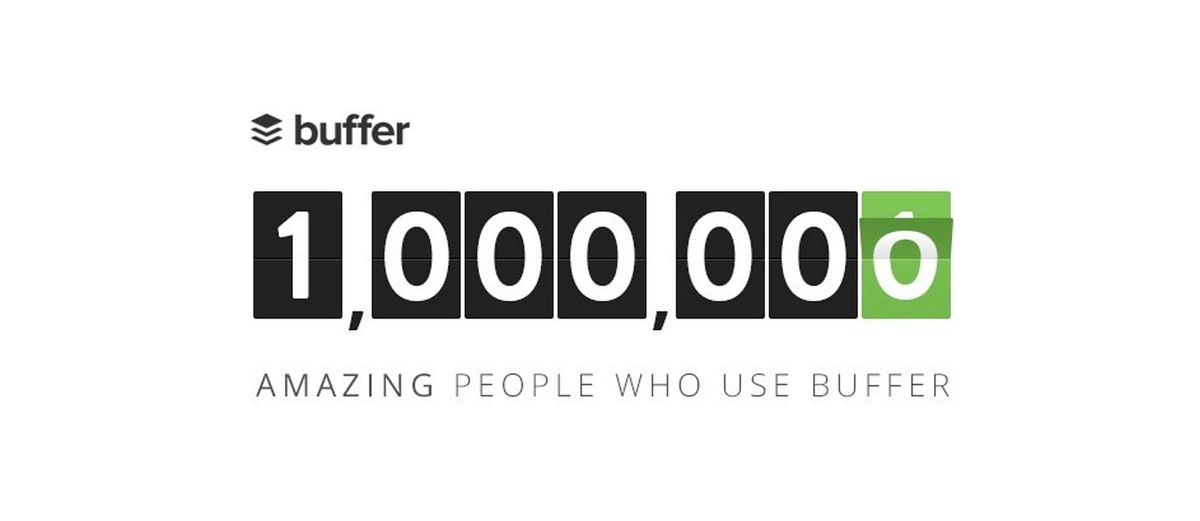 From 0 to 1,000,000 users: The Journey and Statistics of Buffer