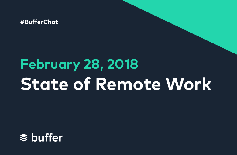 State of Remote Work: A #BufferChat Recap