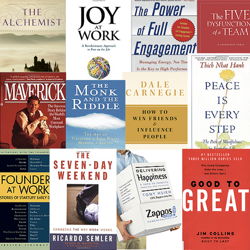 50 Books That Transformed My Business and My Life