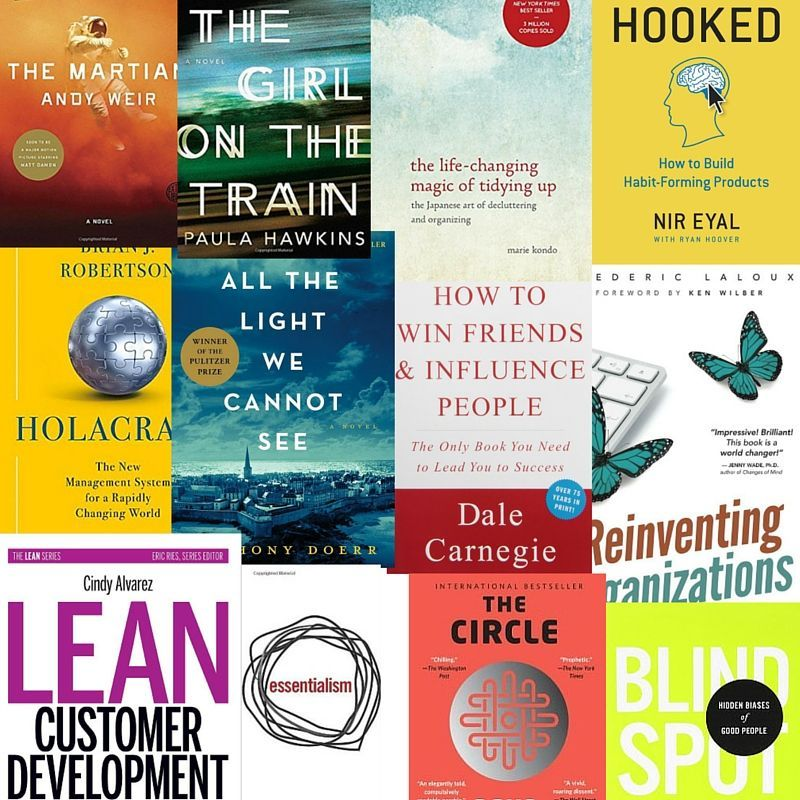 From 'The Martian' to 'Holacracy': Buffer's Most-Read Books of 2015