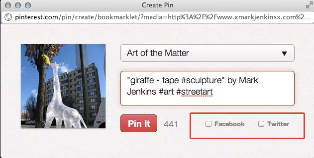 Add Pin to Pinterest
