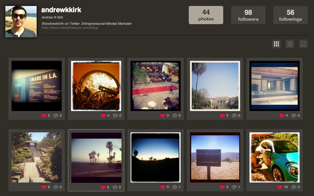 Andrew K Kirk Instagram Photos