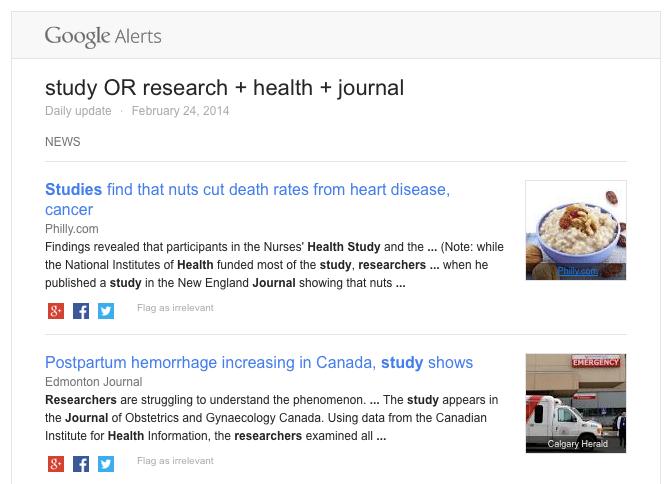 google alerts email 2