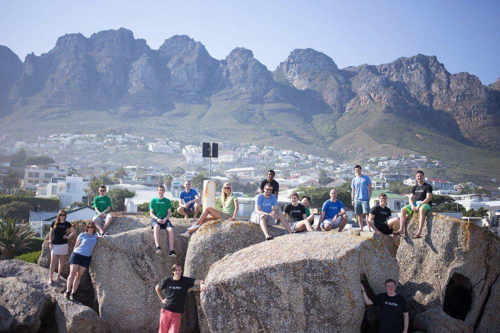 team photo Cape Town