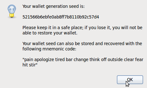 bitcoin wallet brainwallet electrum password seed