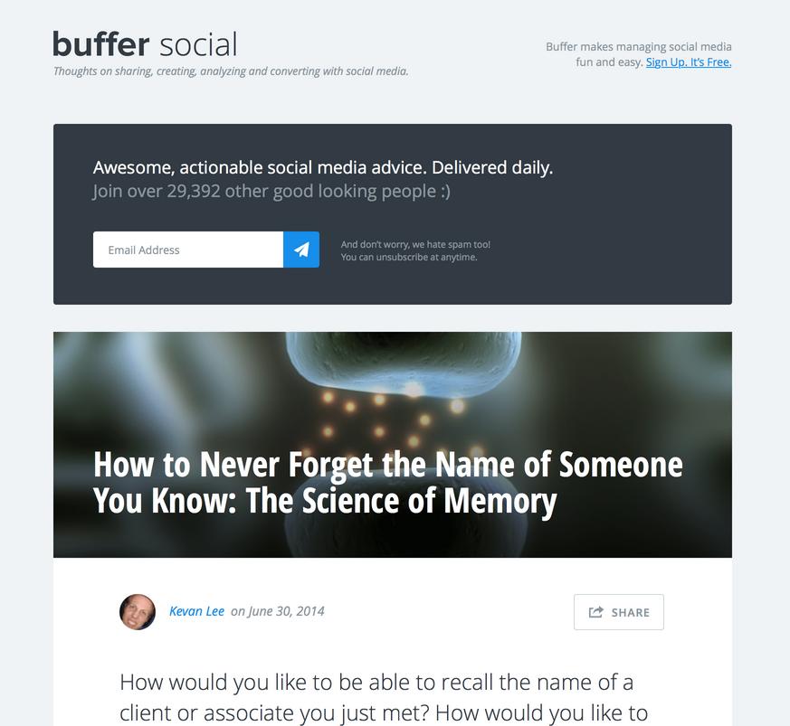 blog redesign sneak