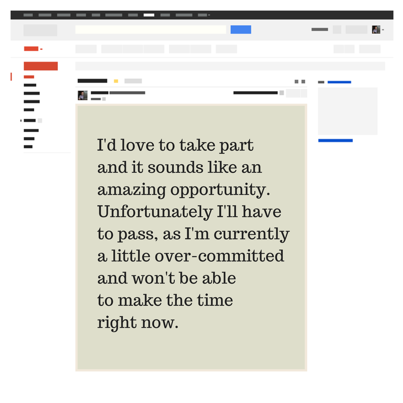 email snippet example wireframe