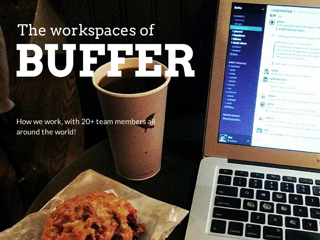 workspaces of Buffer