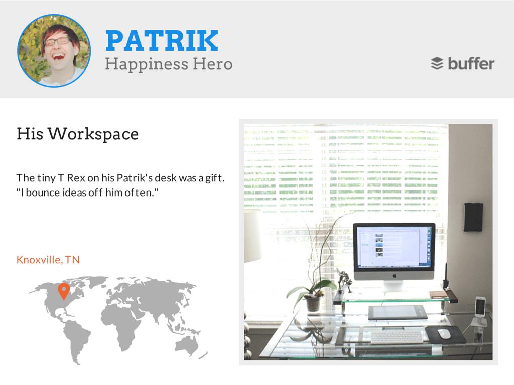 18 Patrik workspace