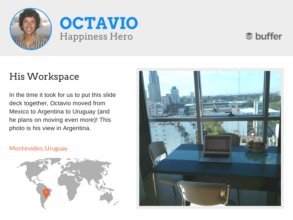 Octa workspace