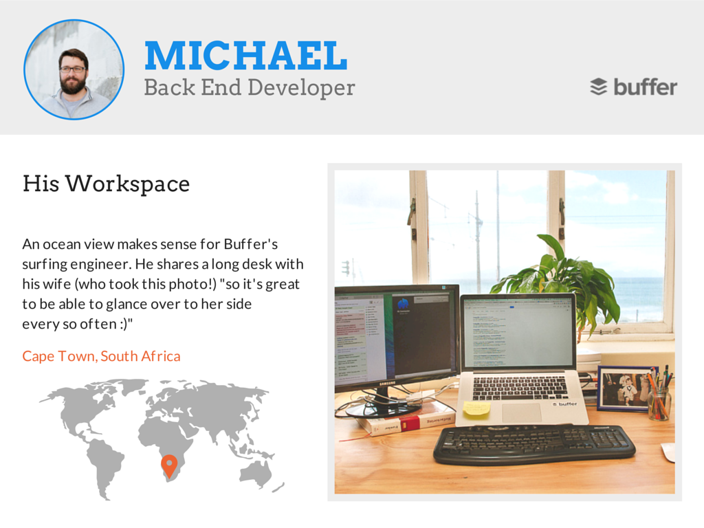 Michael workspace