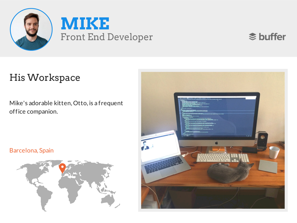 Mike workspace