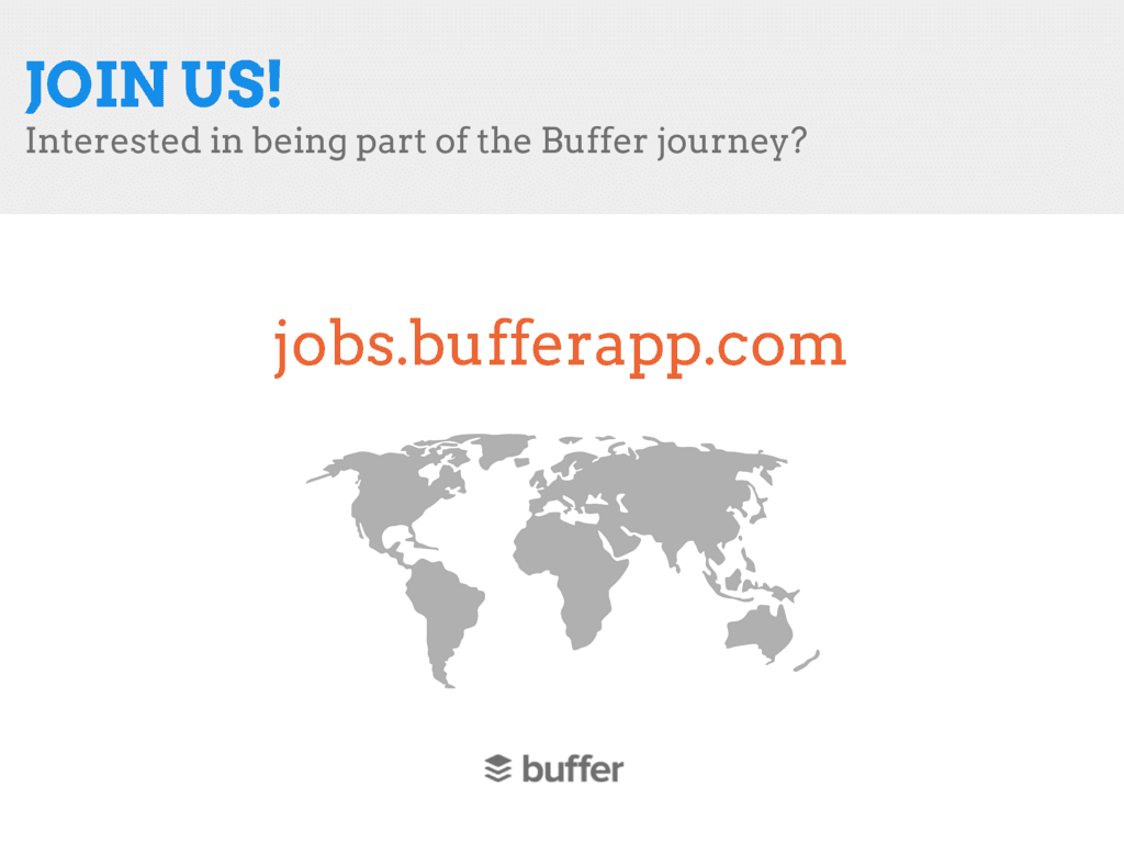 jobs at Buffer