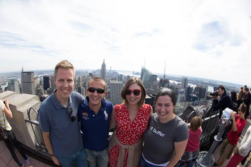 Top of the Rock selfies