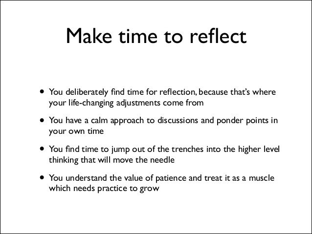 Buffer value 7: reflection