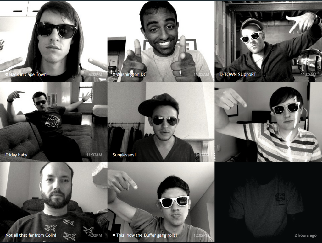 sunglasses day on sqwiggle