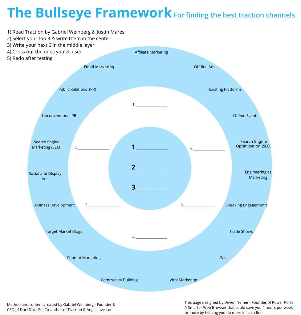 traction bullseye