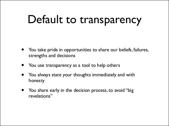 Buffer value 2: transparency
