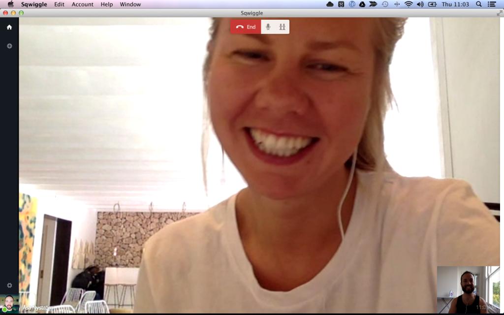 sync with Åsa