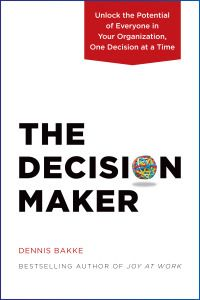 The Decision Maker book cover