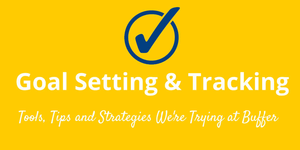 goal setting and tracking