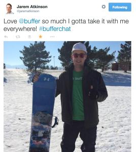 Buffer swag snowboard