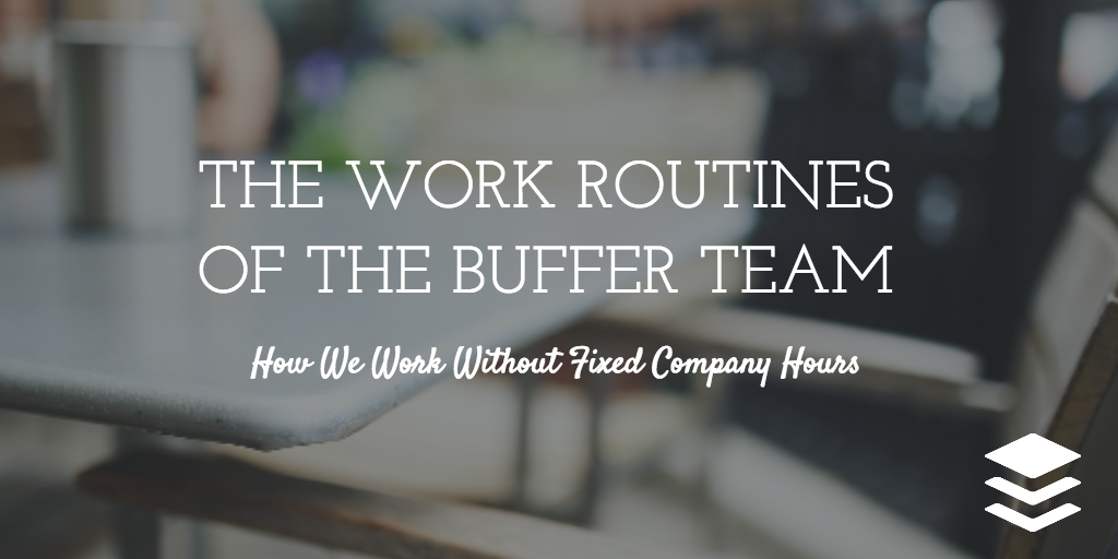 buffer work routines