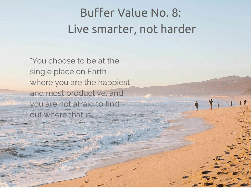 Buffer value 8