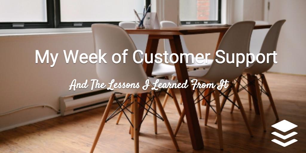 customer support week