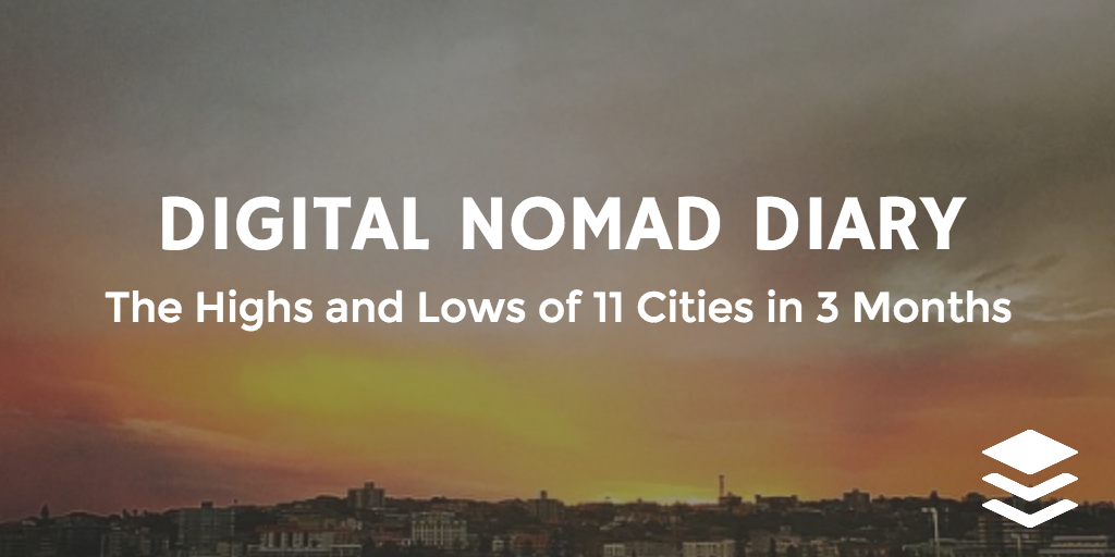 digital nomad diary