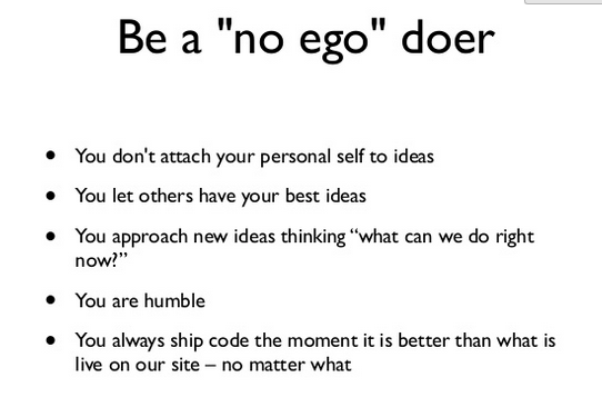 old no ego doer