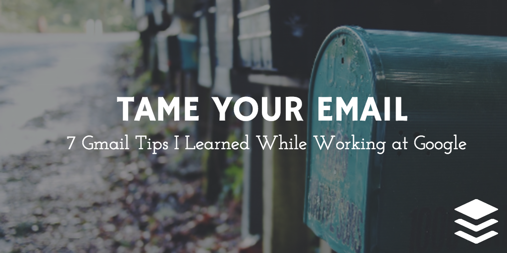 tame your email