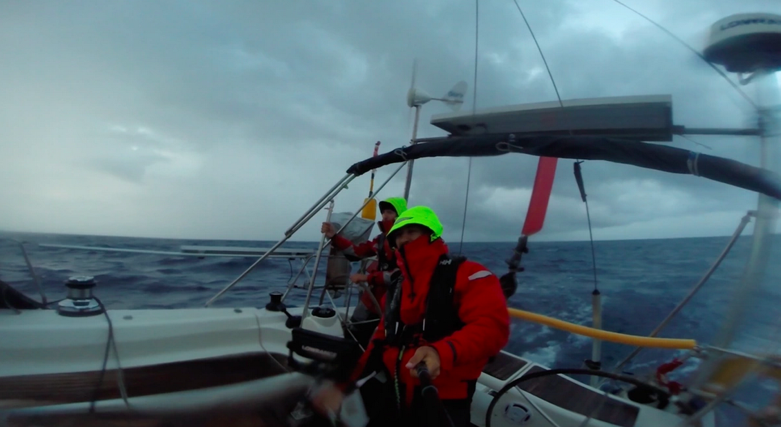 Rodolphe sailing