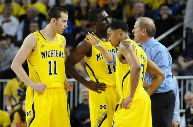 John Beilein, the head coach at the University of Michigan is known for taking risks by recruiting for potential to develop within the team instead of pure talent. All three here (Nik Stauskas, Trey Burke and Tim Hardaway Jr.) were not recruited heavily among top colleges when they were in high school. Yet after a few years of hard work, the trio led the team to the national championship in 2013. They exceeded all expectations by becoming top NBA draft picks Melanie Maxwell | AnnArbor.com