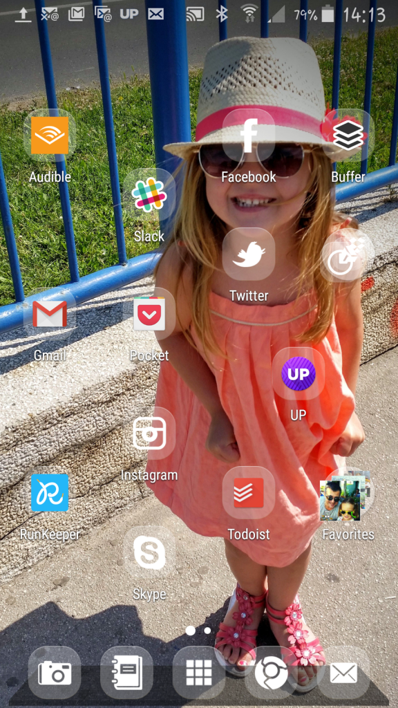 Ivana homescreen