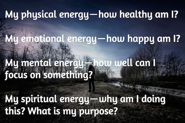 The 4 Energy Questions