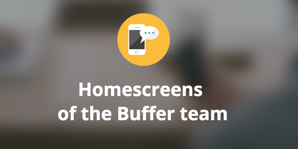 homescreens buffer team