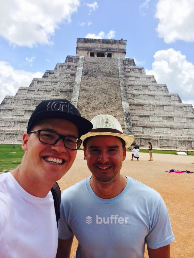 Joel and Leo in Mexico