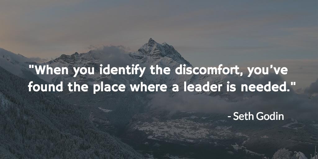 leadership discomfort