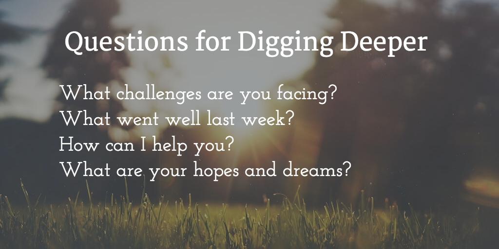 questions for digging deeper