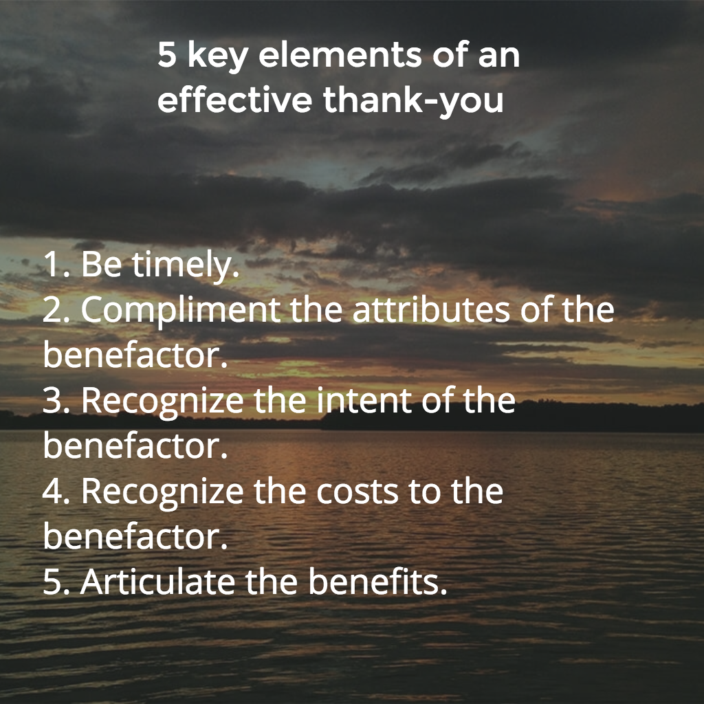 effective thank you