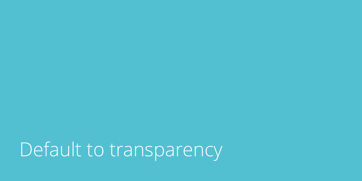 default-to-transparency