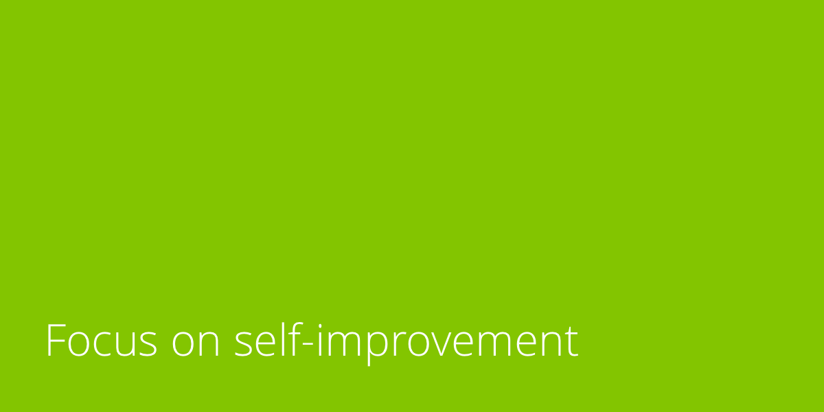 focus-on-self-improvement