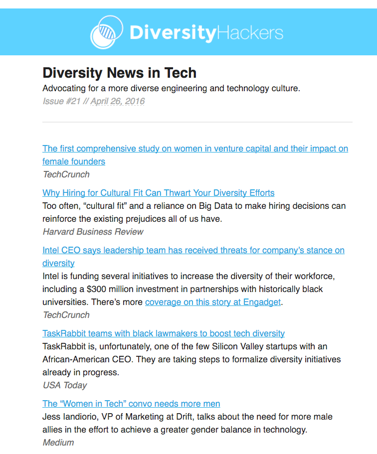 Diversity Hackers