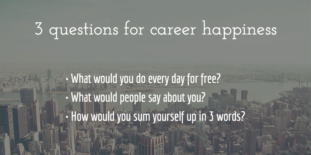 career happiness questions