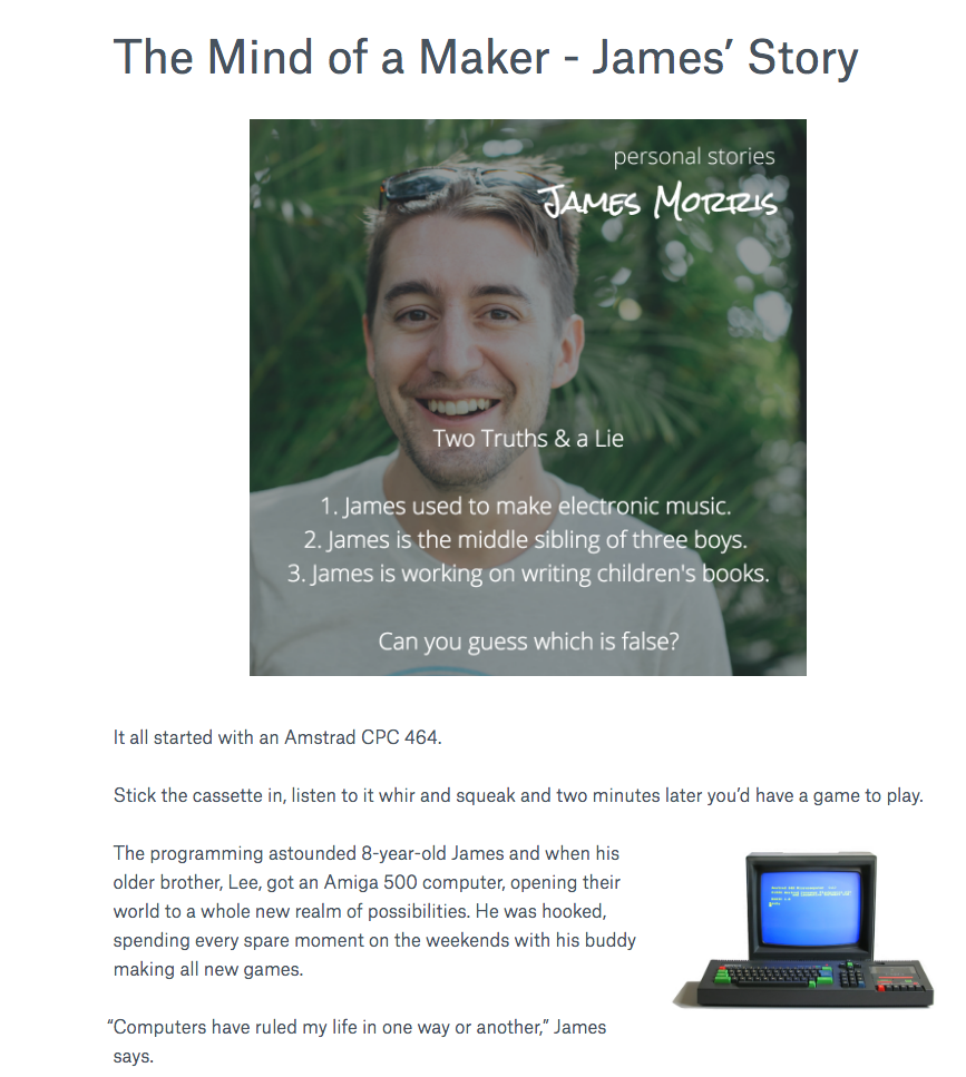 james story