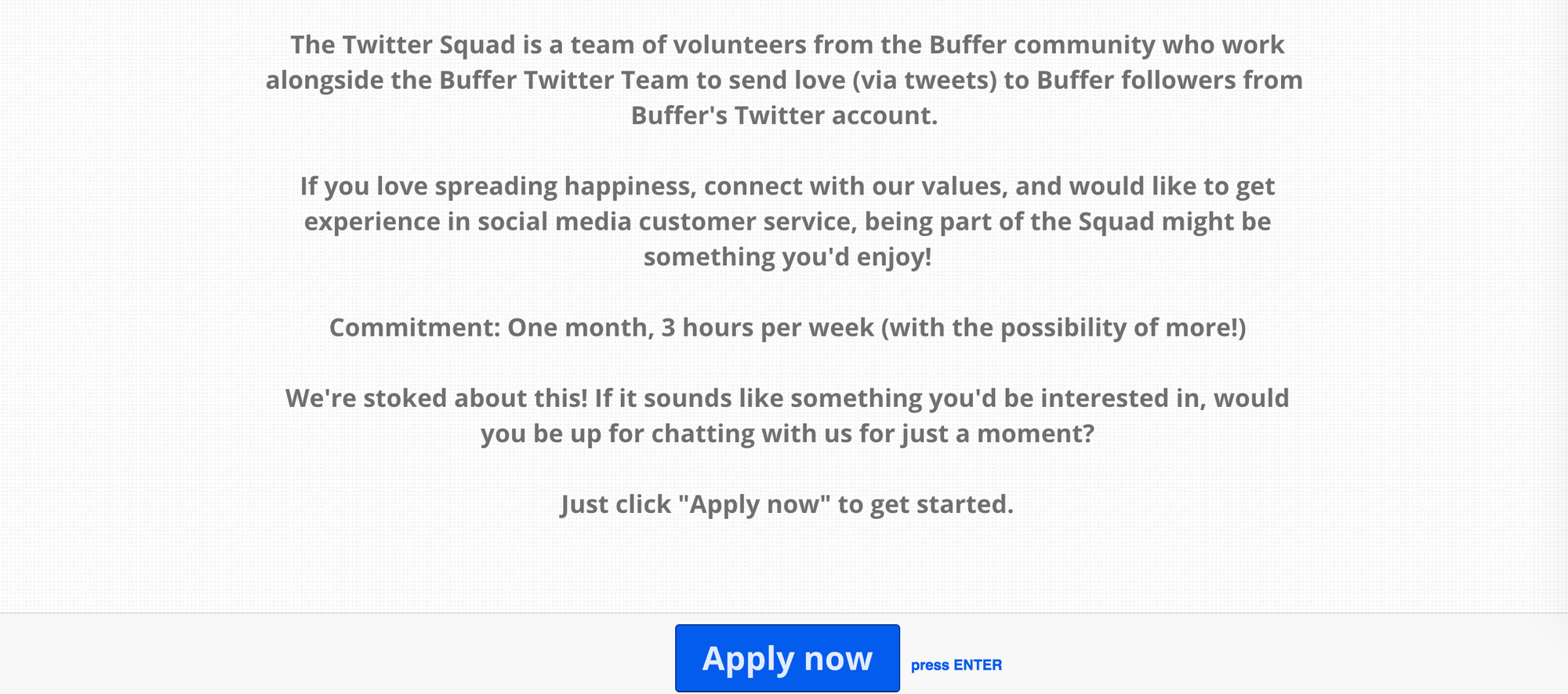 twitter squad application