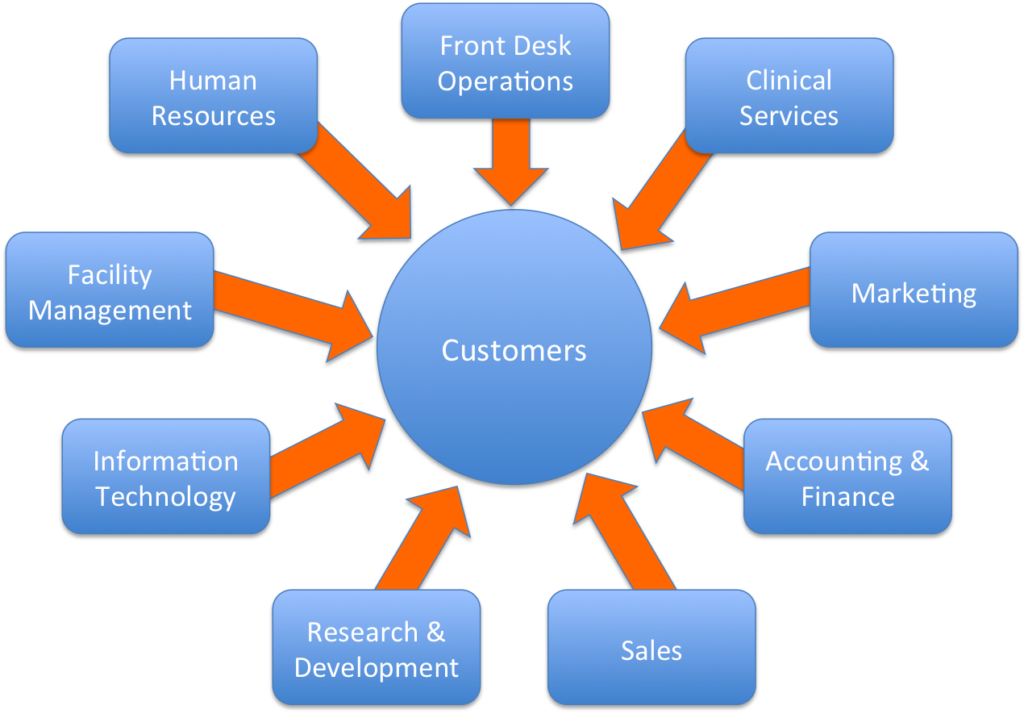 Customer Centric Org Chart Example