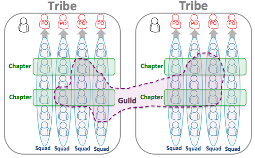 spotify chapter and guild organization model
